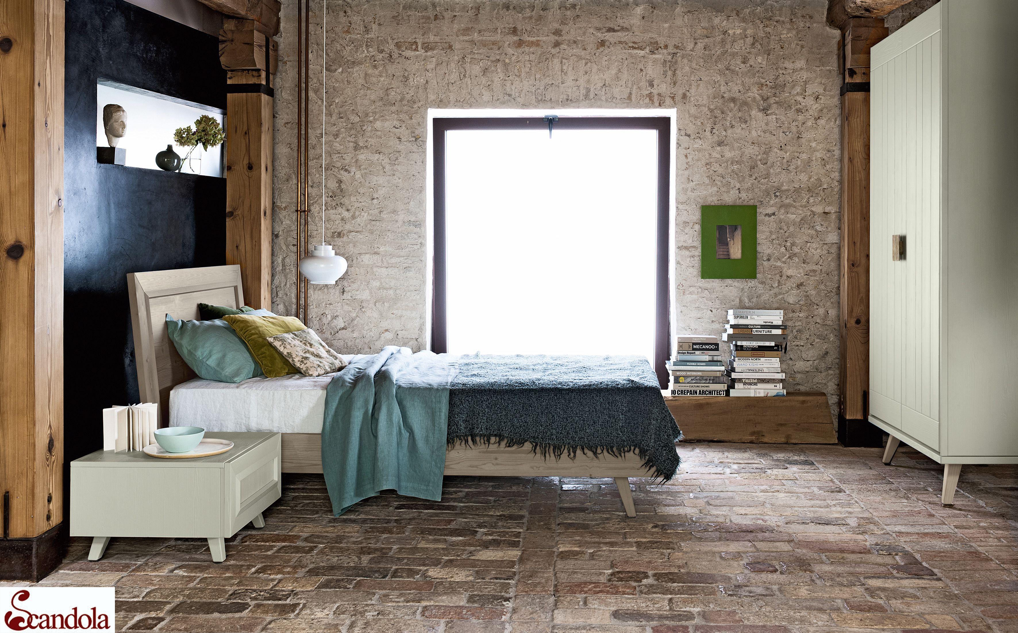 Cameretta per ragazzi in legno massello di abete / Kids bedroom in ...