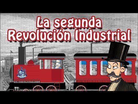 La Revolución Industrial Youtube Revolución Industrial Actividades Ingenieria Industrial