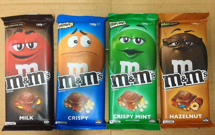 M M Crispy Crispy Mint Hazelnut Milk Chocolate Bars Hazelnut Milk Hazelnut Chocolate Milk