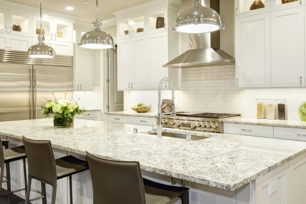 Traductor Buscar Con Google In 2020 White Granite Countertops Kitchen Counter Remodel Kitchen Remodel Design