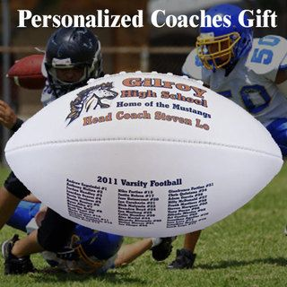 custom personalized football coach