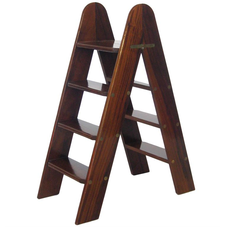 Folding Library Ladder By Smith And Watson Library Ladder Ladder Fold