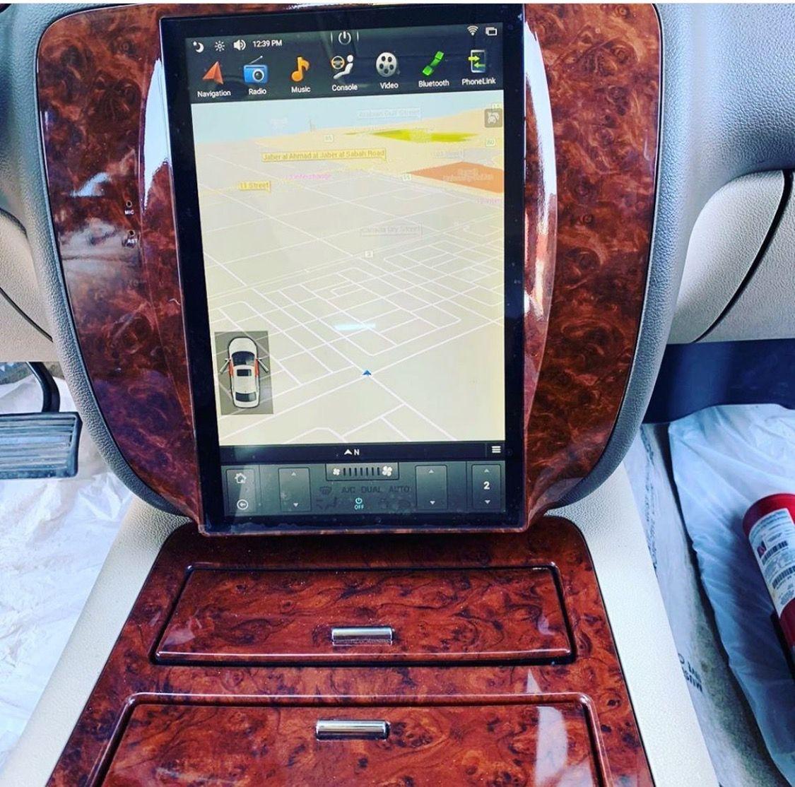 Tesla Style Vertical Screen Android Car Radio For Gmc Sierra Chevrolet Yukon Chevrolet Tahoe Chevrolet Tesla