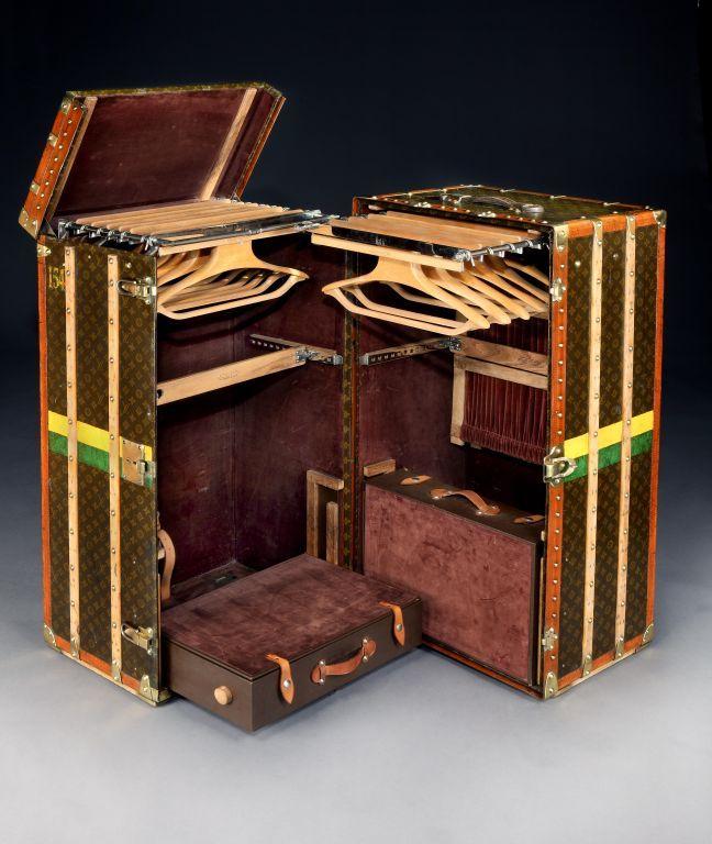 malle armoire wardrobe trunk by louis vuitton 2