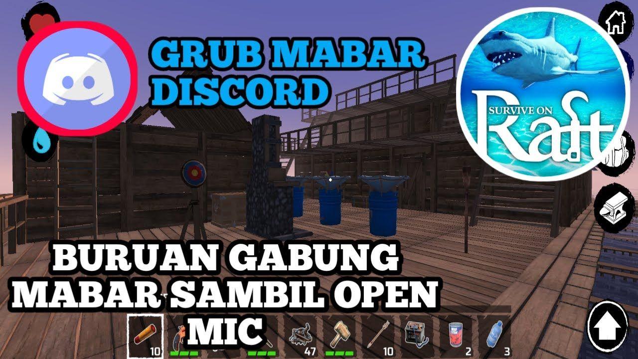 Grup Mabar Atau Multiplayer Raft Android Survival On Raft Terbaru Survival Youtube Pemburu