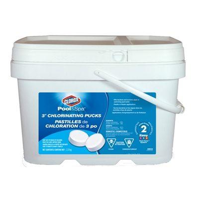 clorox pool spa 22005ccn 5 lb bucket 3 in pool chlorine tabs rh pinterest com