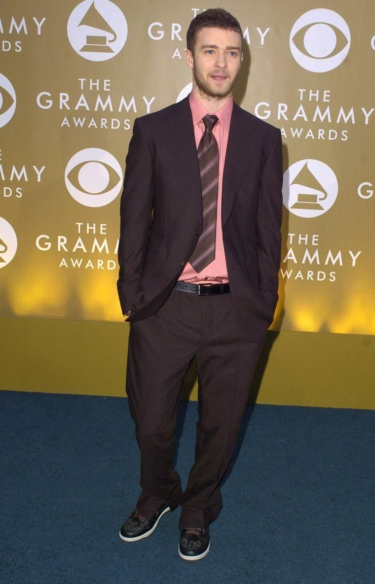 Justin Timberlake At The 46th Grammy Awards In 2004 With Images