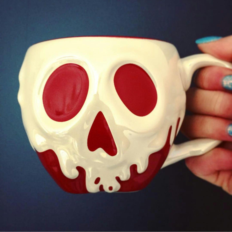 073fb728aa1 Poison Apple Mug · Starbucks Coffee · Mugs · BUY IT NOW... ONLY -- $31.00  ... NEW DISNEYLAND HALLOWEEN