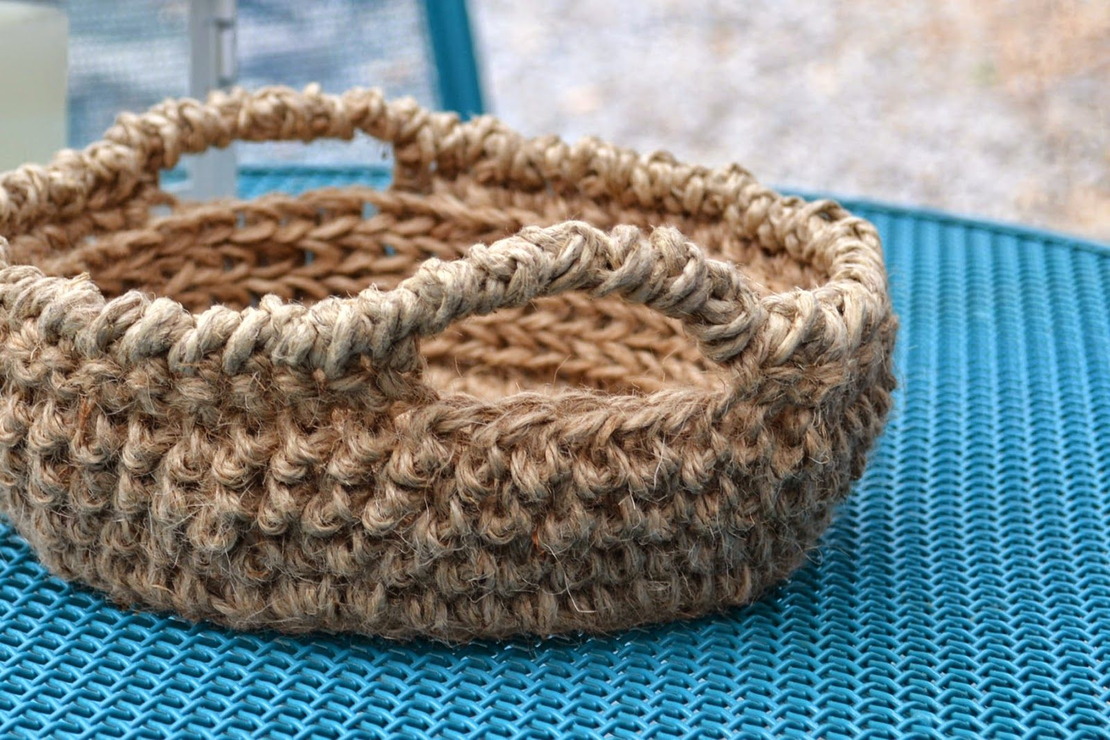Inside Out Jute Bowl
