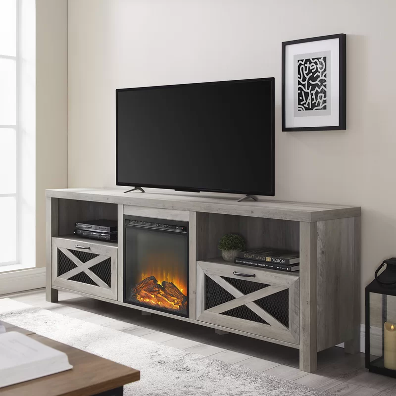 Tansey Tv Stand For Tvs Up To 78 Fireplace Tv Stand Electric Fireplace Tv Stand Fireplace Tv