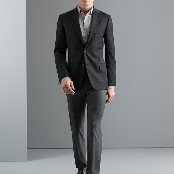 Dress day to night in a monochromatic sportcoat look that's perfect for all-day wear.