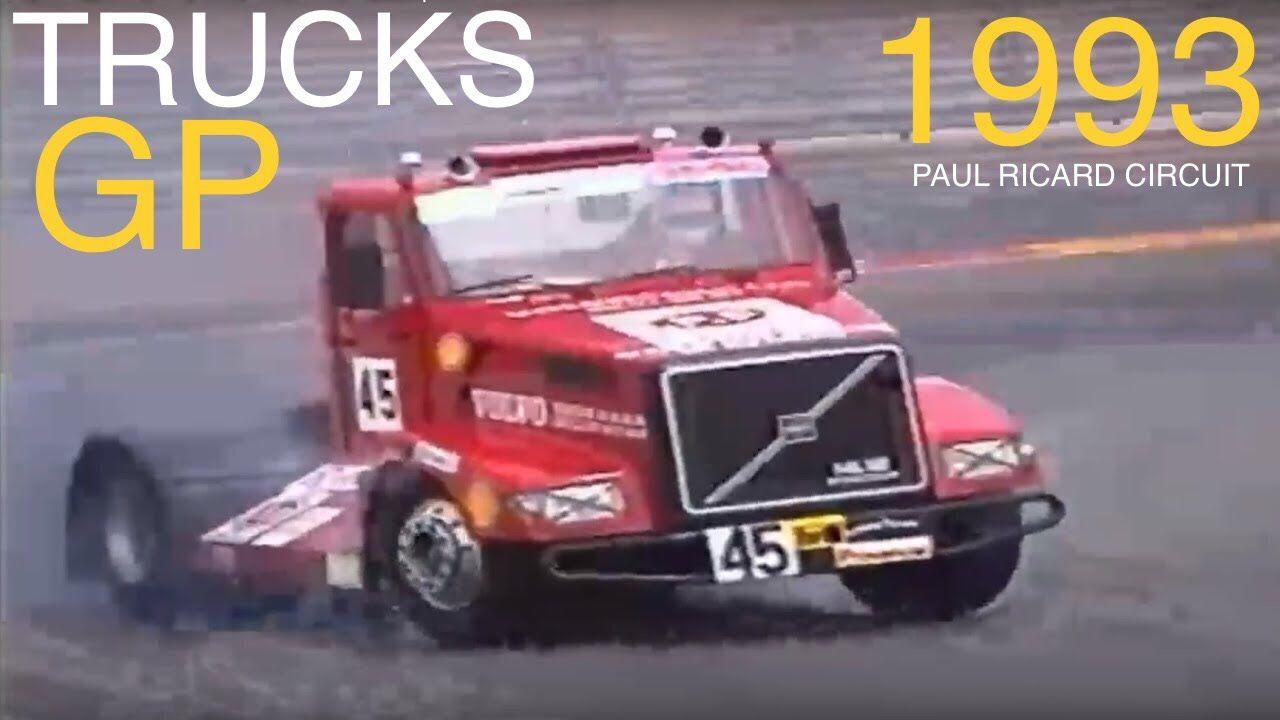 Grand Prix Camions du Castellet 1993 Trucks GP Compétition