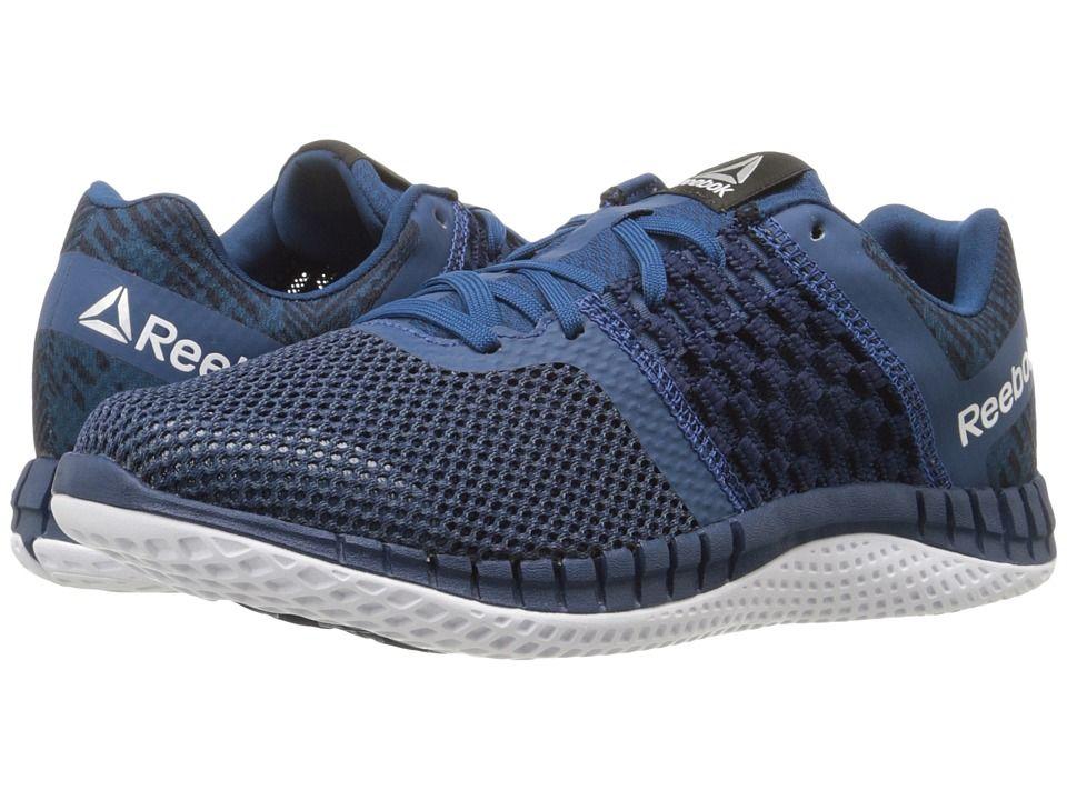 8b630398d3541b REEBOK REEBOK - ZPRINT RUN HAZARD GP (NOBLE BLUE COLLEGIATE NAVY WHITE)  WOMEN S RUNNING SHOES.  reebok  shoes