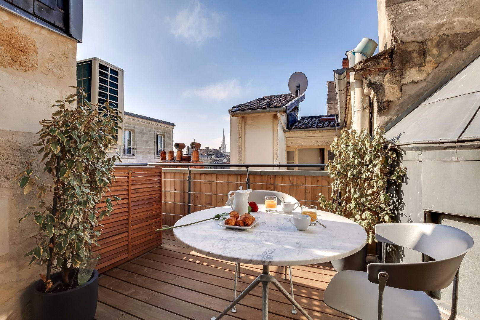 Bordeaux Flat With Terrace Louer Un Appartement Appartement Meuble Appartement