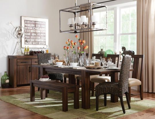 650 63 PERFECT Meadowbrook Dining Table