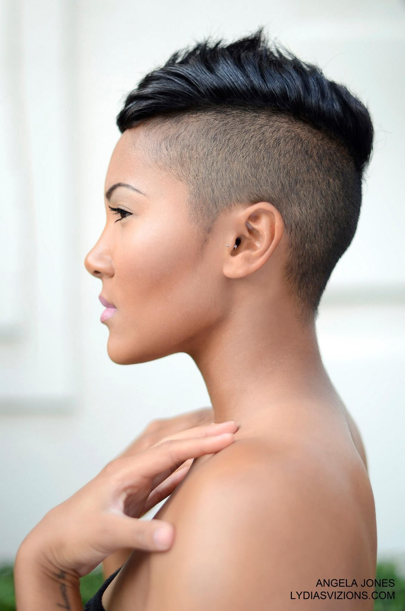 African american short hairstyles cuts we love pinterest