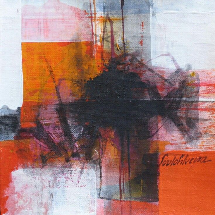 Saulo Silveira  Abstract Painting    Abstract Format
