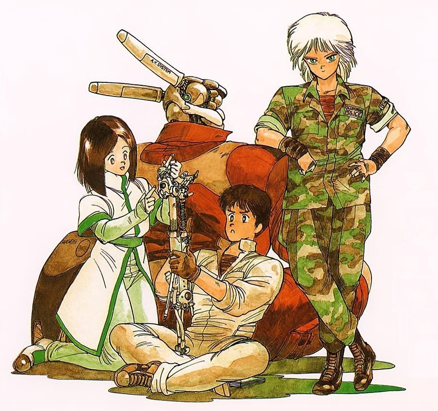 Appleseed Character Design : Appleseed merchandising ★ character design references