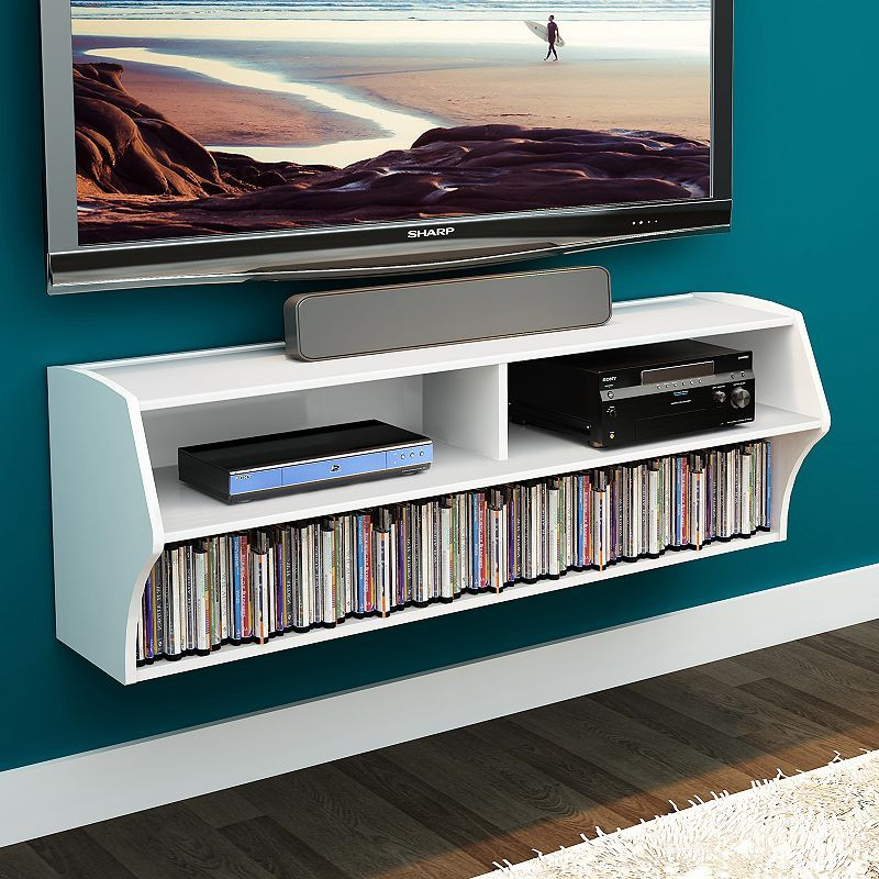 Prepac Altus Wall Mounted Tv Stand Wall Mounted Tv Floating Shelves Entertainment Center Floating Tv Stand