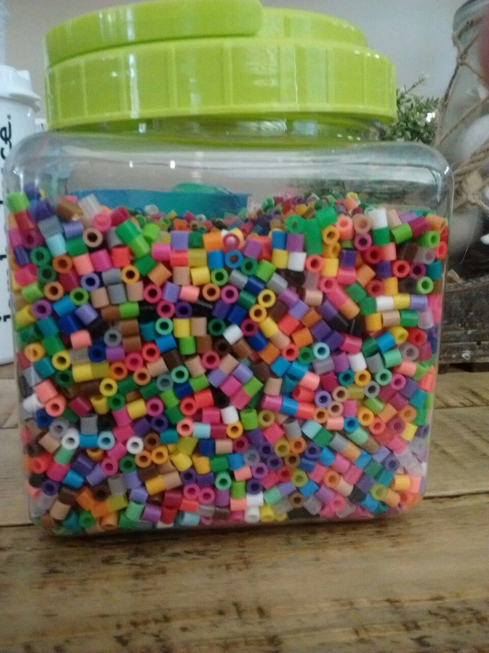 New bin of perler beads!