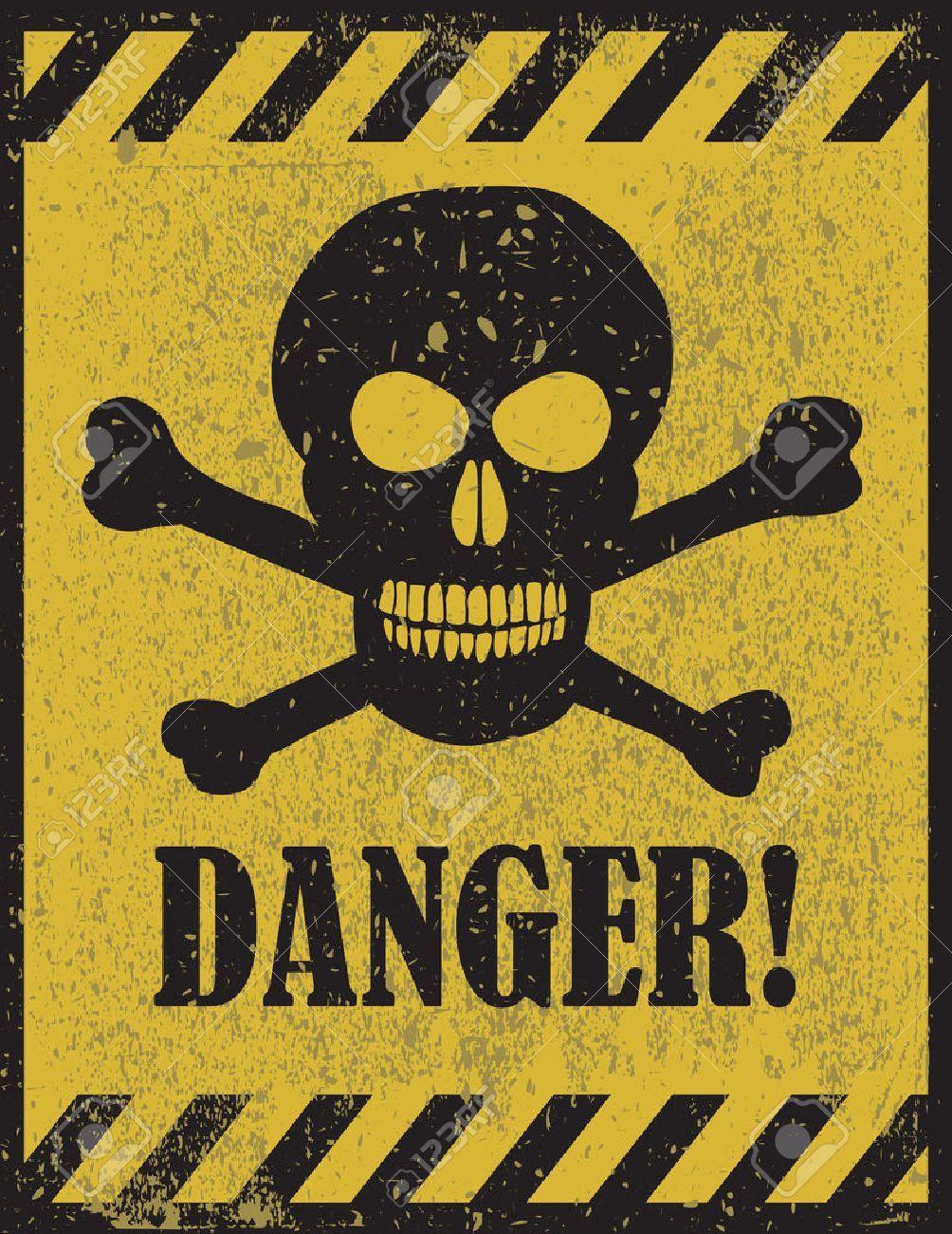 Danger Sign With Skull Symbol Deadly Danger Sign Warning Sign Danger Zone Aff Skull Symbol Danger Sign Concept Art Gallery Danger Zone Dangerous