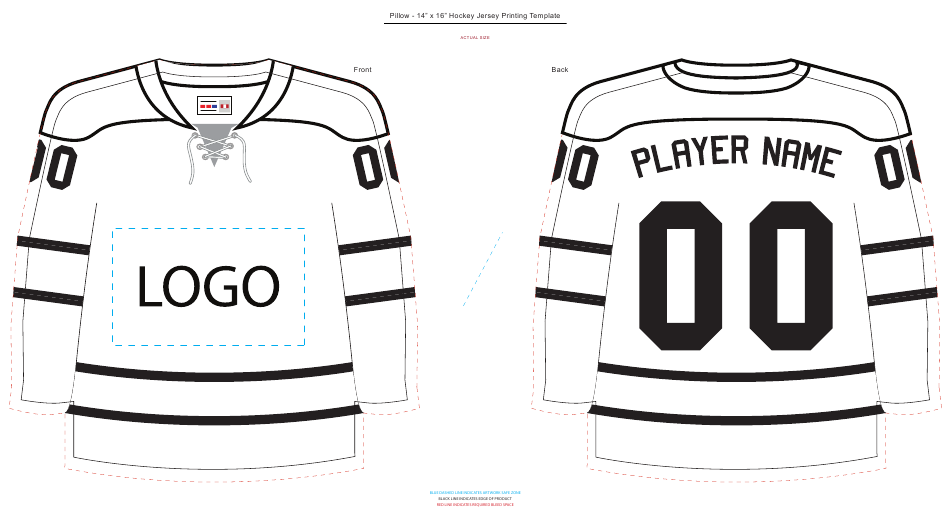 Hockey Jersey Template Printable Pdf Download Hockey Jersey Hockey Tournaments Hockey Posters