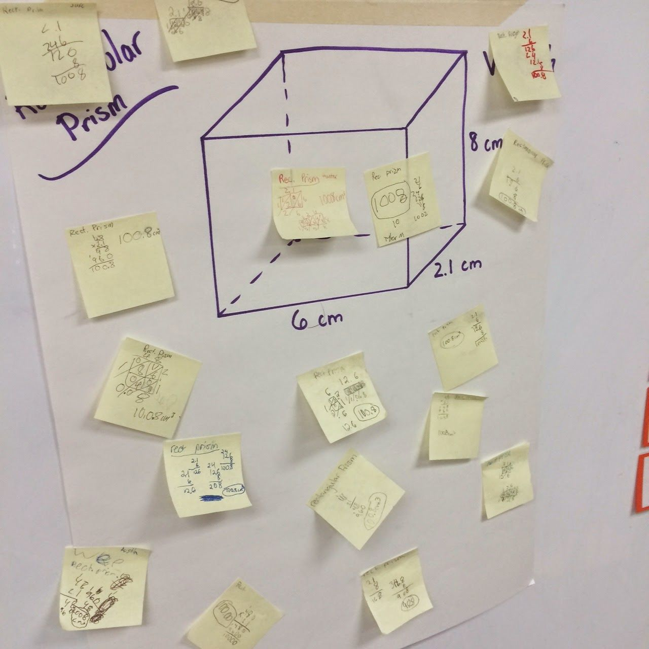 Volume Review Activity For 6th Grade Math
