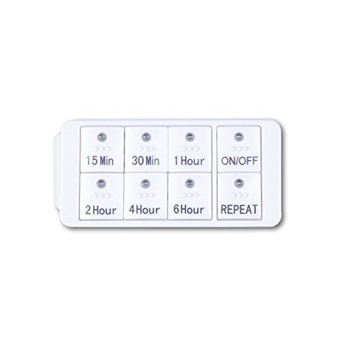 New Century Countdown Digital In-wall Timer 5,15,30,60mins,2,4 hours for lights