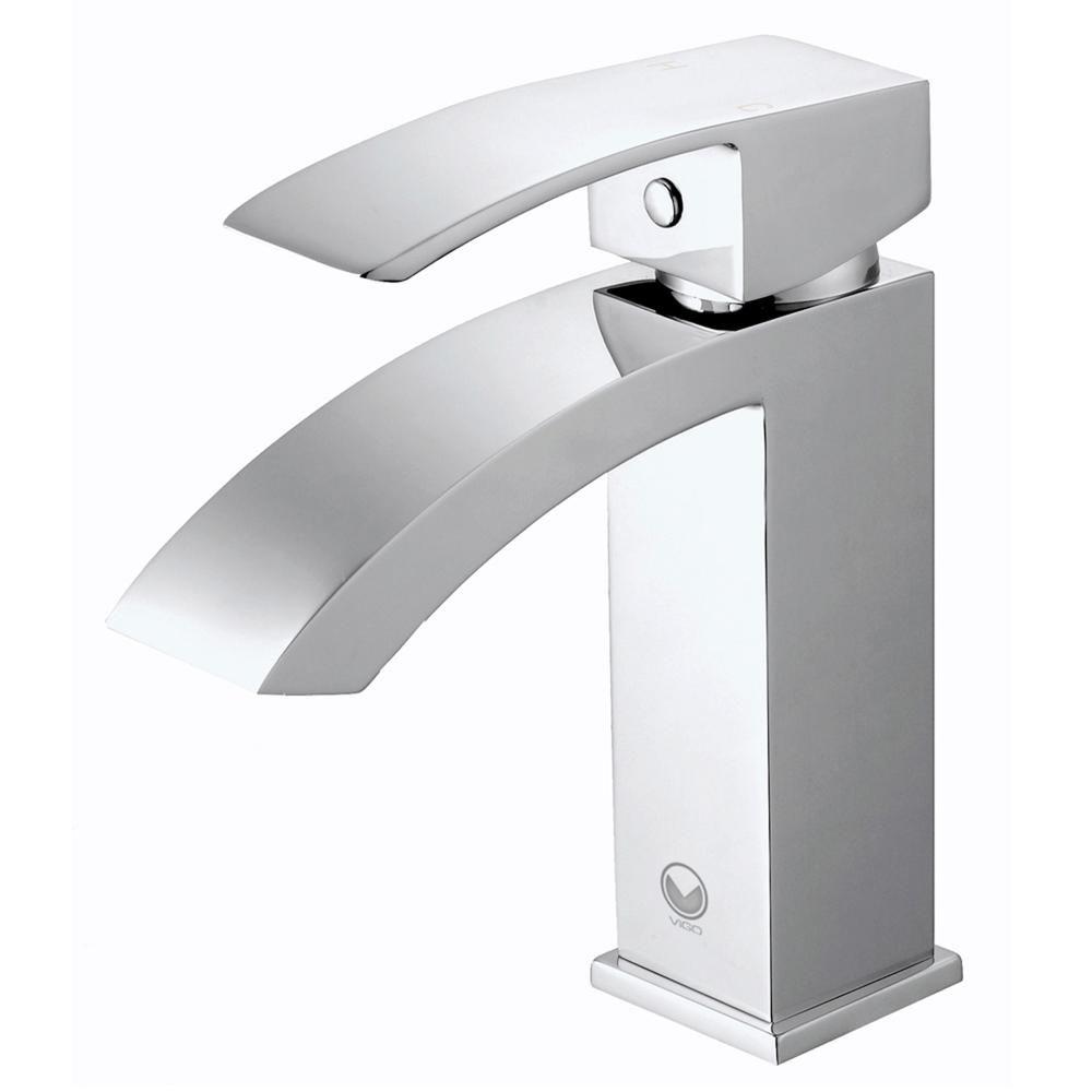 Vigo Single Hole Single Handle Bathroom Faucet In Chrome Bathroom Faucets Single Handle Bathroom Faucet Modern Bathroom Faucets [ 1000 x 1000 Pixel ]