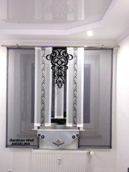 Moderne Schiebegardinen Window - gardinen wohnzimmer modern