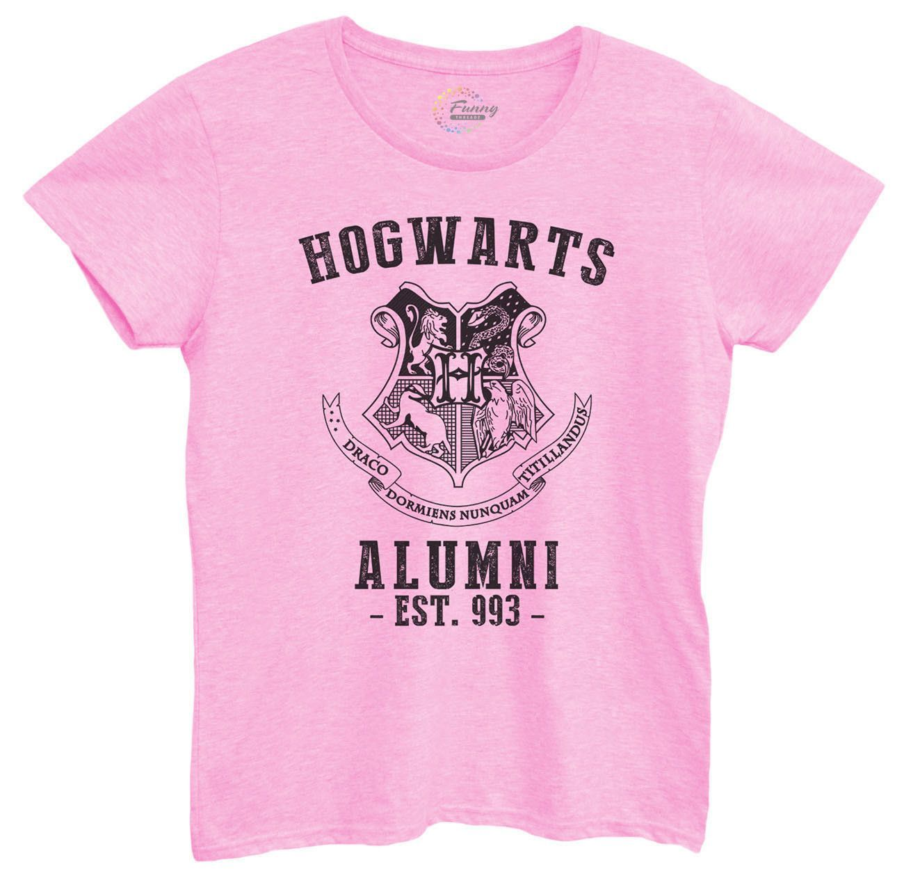 94d7ab88 Womens Hogwarts Alumni Tshirt | Products | Hogwarts alumni, T shirt ...