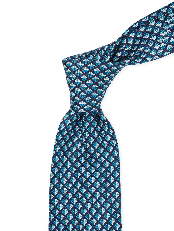 bf44feae Sea Shell Print Silk Tie by Ermenegildo Zegna at Gilt   OUTFIT ...