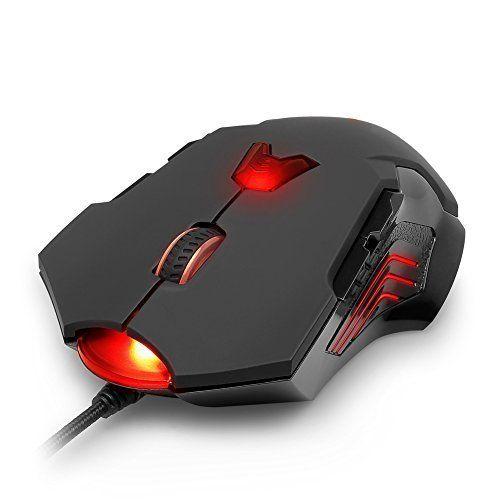 aLLreLi 8200 DPI High Precision Laser Gaming Mouse (M811Lu