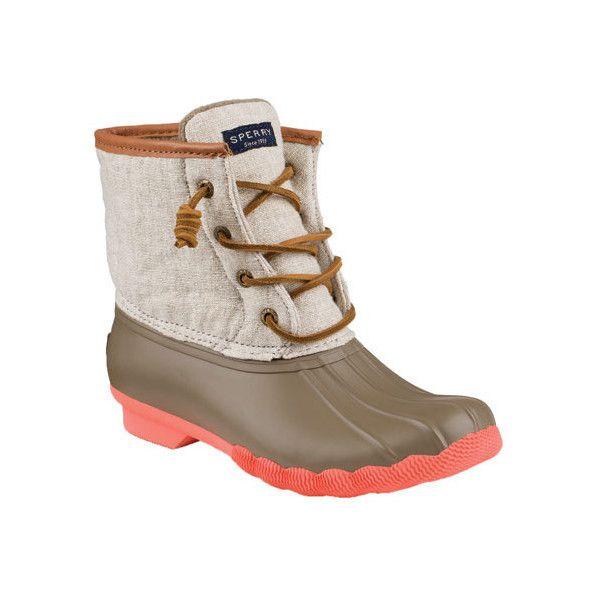 Womens Sperry Top-Sider Saltwater Duck Boot 450 Sar -1210