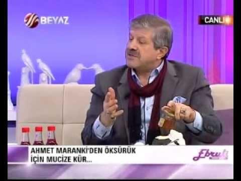 Ahmet maranki Ebruli programında öksürük için  turp şifasını açıklıyor