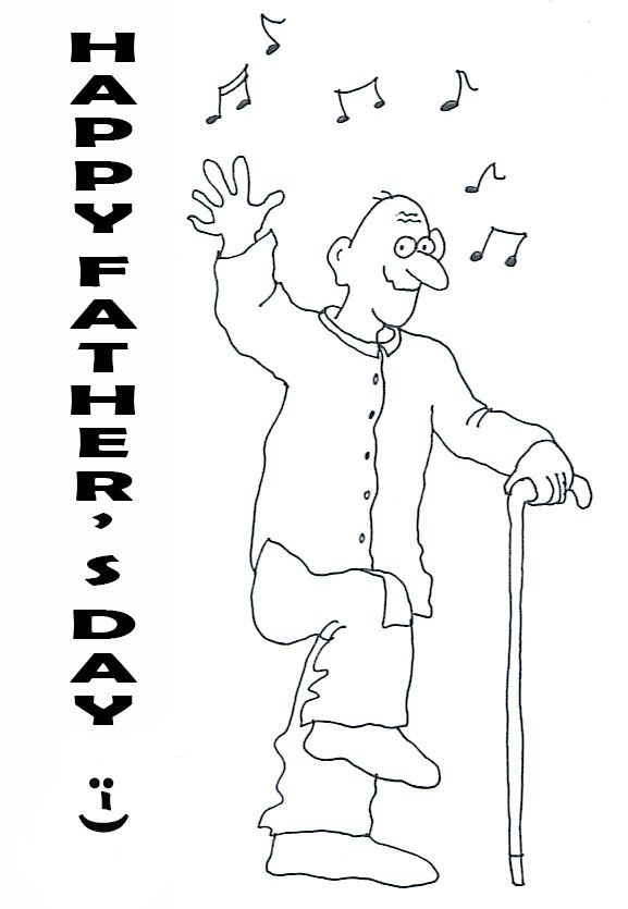 Happy Fathers Day Fathers Day Clipart Fathers Day Coloring Page Happy Fathers Day Greetings Happy Fathers Day