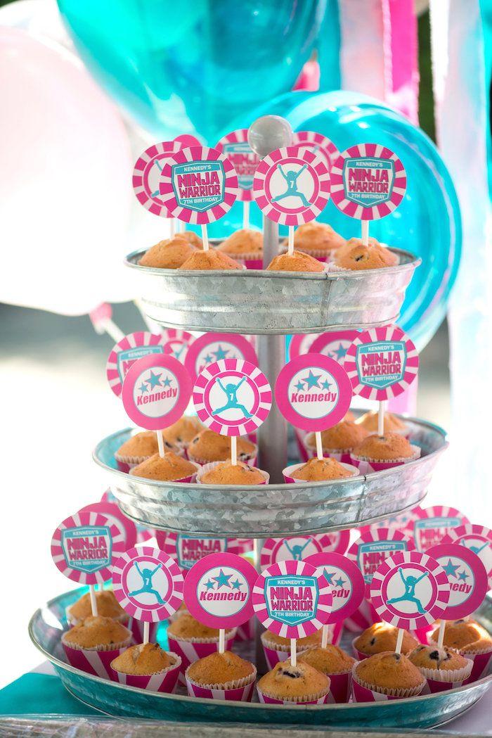 American Ninja Warrior Themed Birthday Party Sports Party Ideas