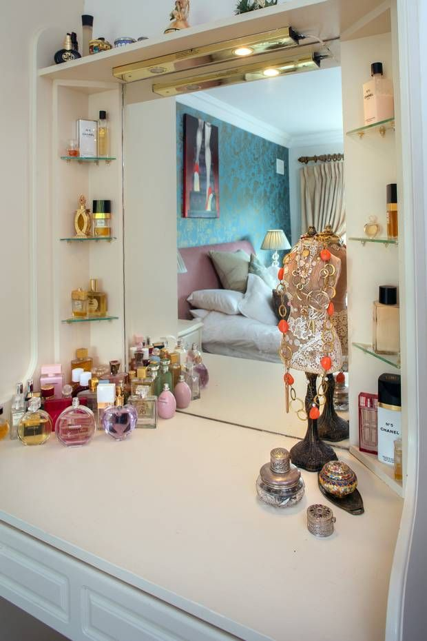Her impressive perfume collection includes fragrances by Chanel Tom Ford and Gucci