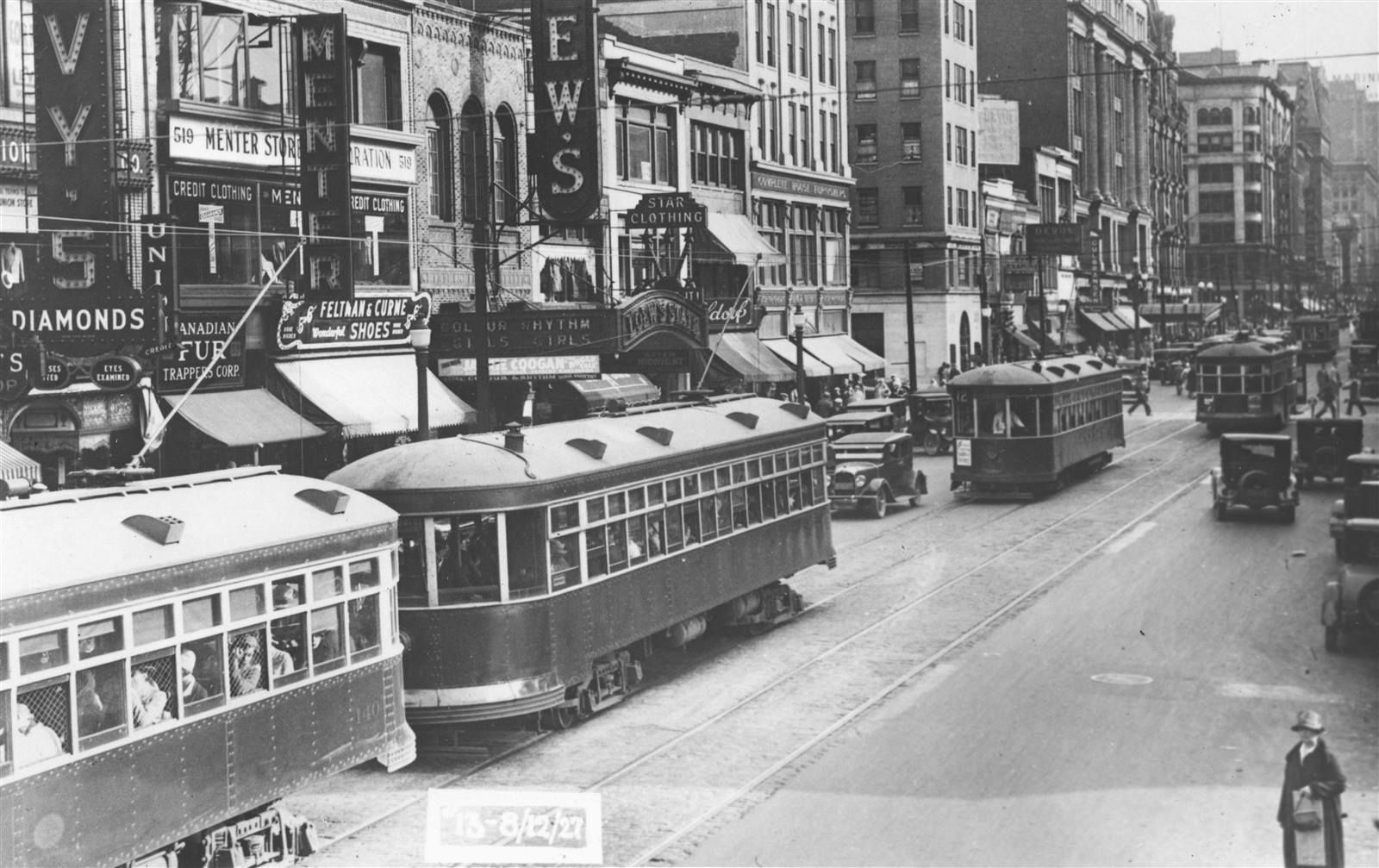 Main Street August 12 1927 Then And Now Photos Buffalo