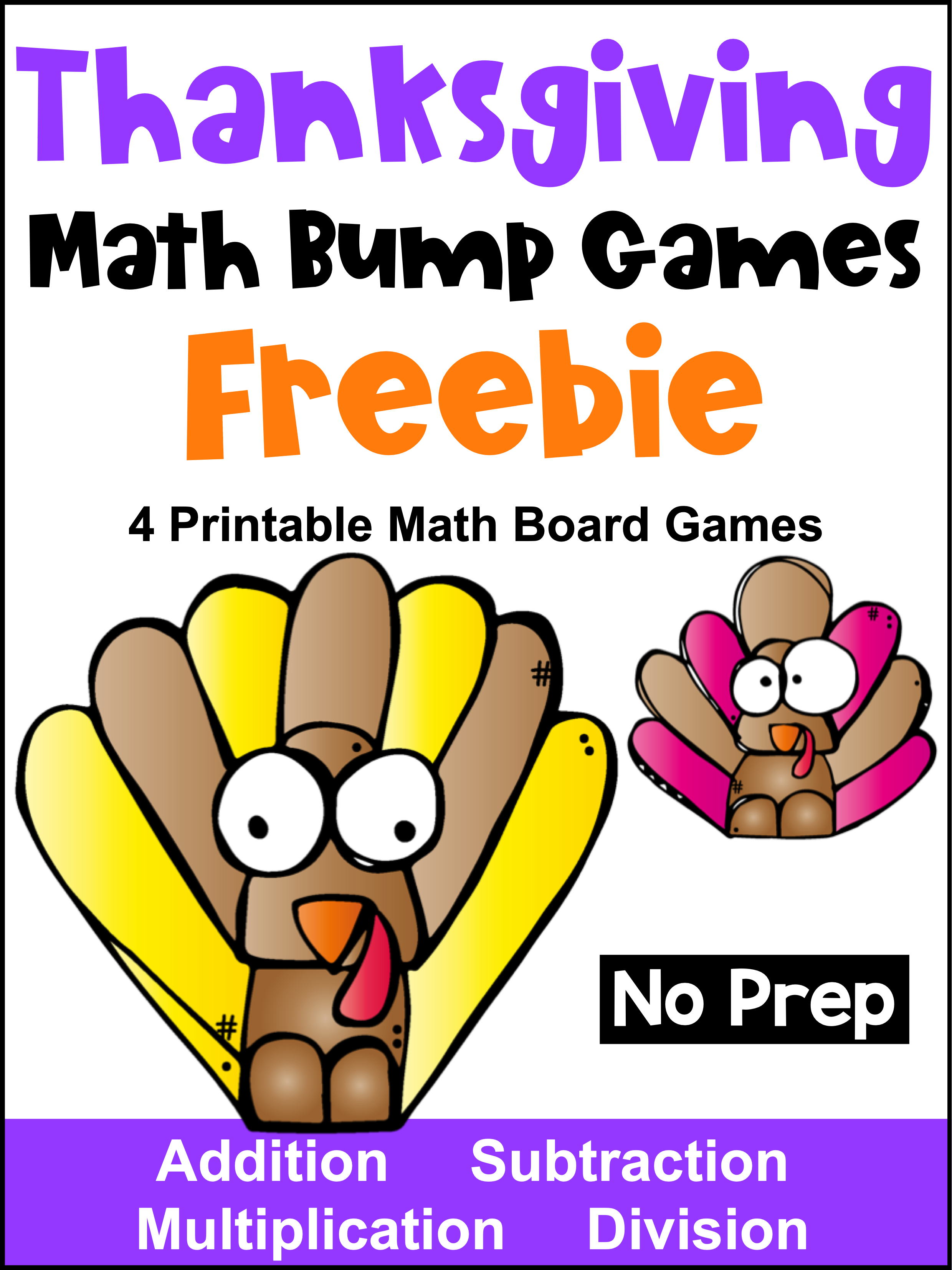 Free Thanksgiving Math Games Thanksgiving Math Activities Thanksgiving Math Thanksgiving Math Games
