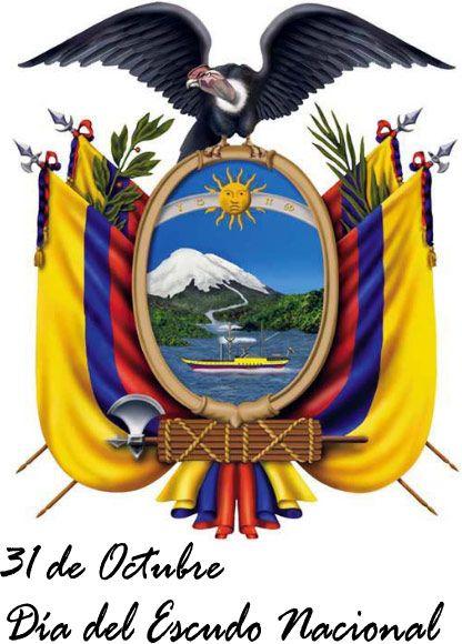 Escudo Nacional Del Ecuador Ecuador Flag Ecuador Quito Ecuador