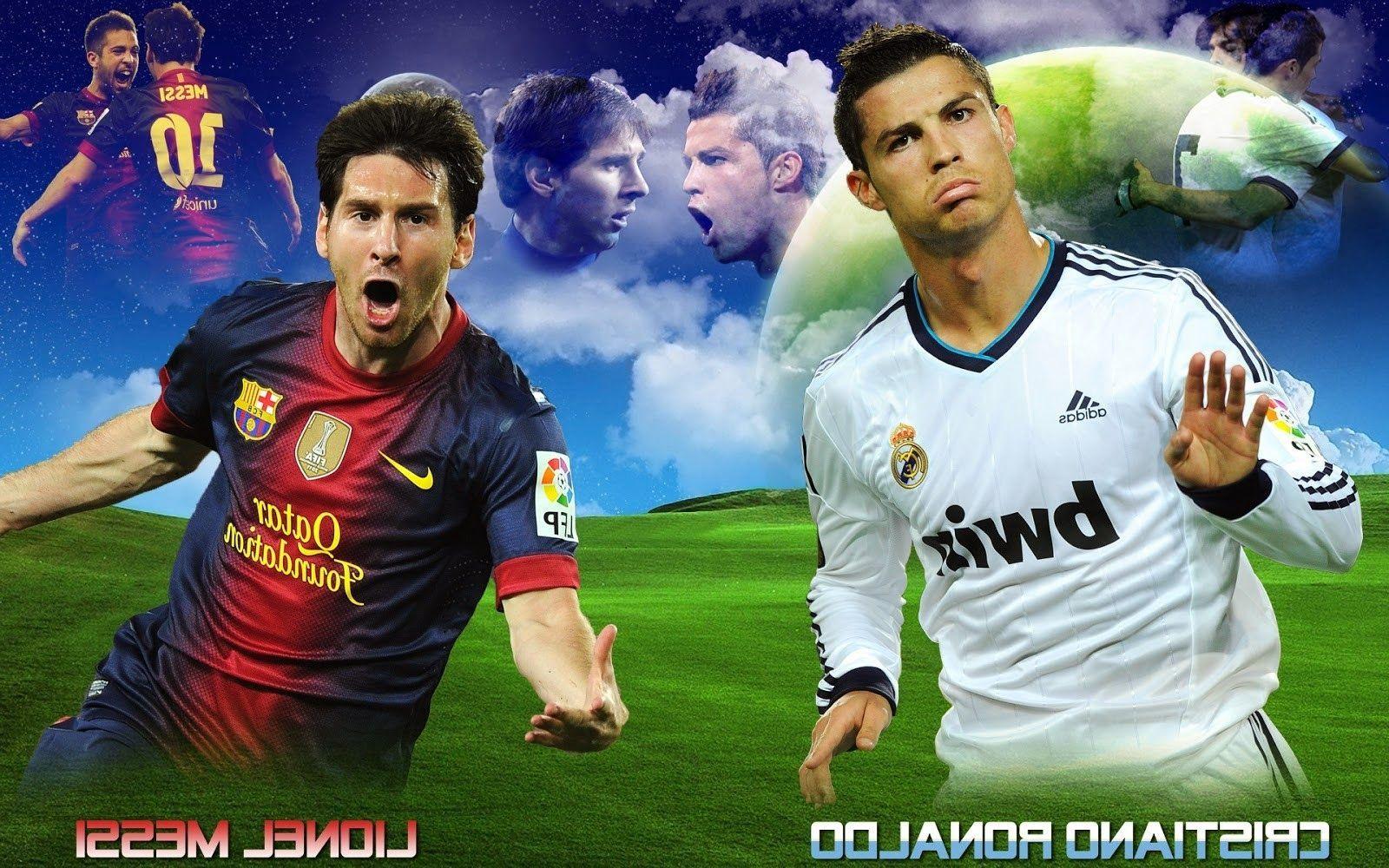 Best Ronaldo Vs Messi Wallpaper 1080P Gyn Messi Vs Ronaldo 400 x 300