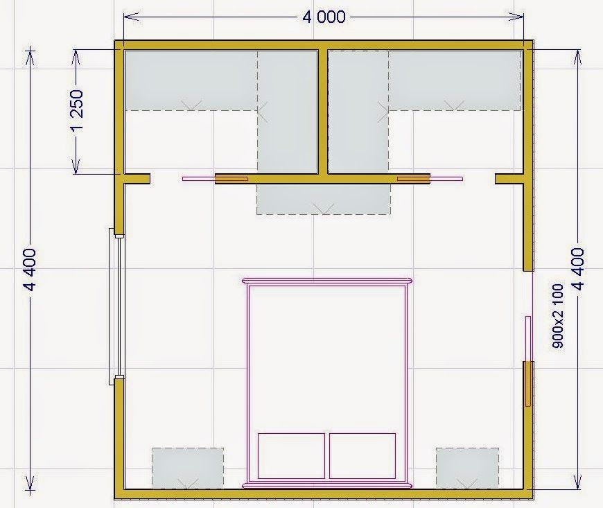 Risultati immagini per progetto cabina armadio - Cabina armadio in camera ...