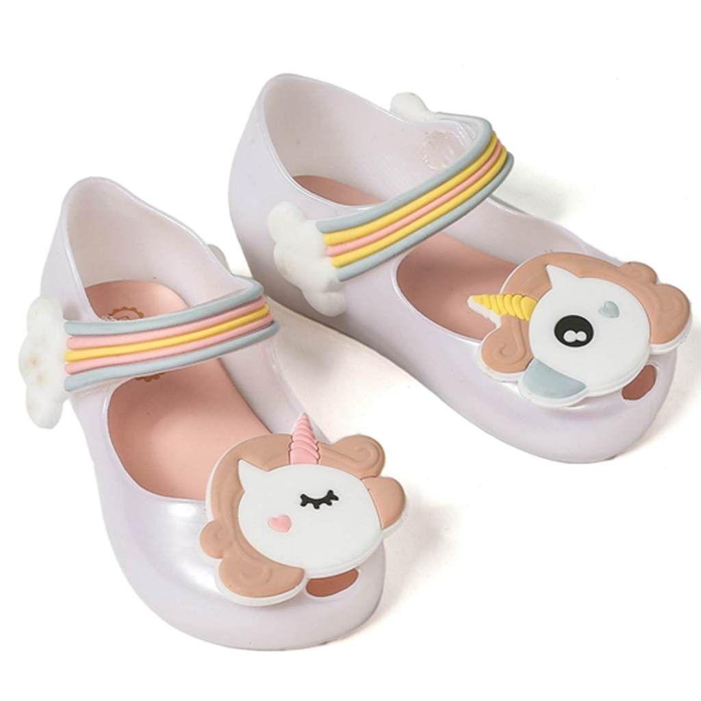 Mini Sapato Geleia Melissa 2018 Sapatos New Inverno Unicornio Dargon Sandalias Boca De Peixe Menina Nao D Zapatos De Chicas Zapatos De Jalea Zapatos Para Ninas