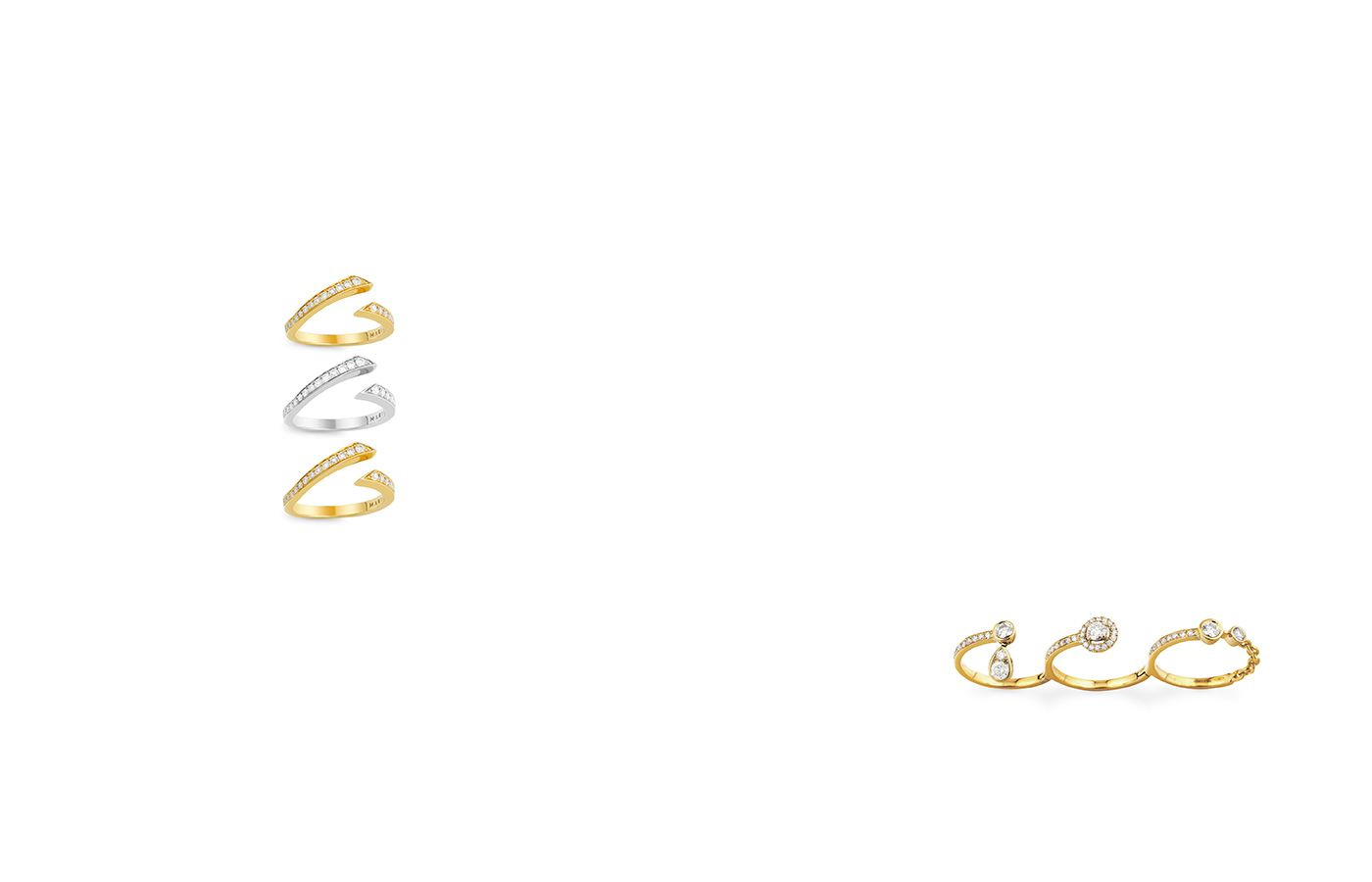 Marli The New Gold Standard Rings and Accessories Pinterest
