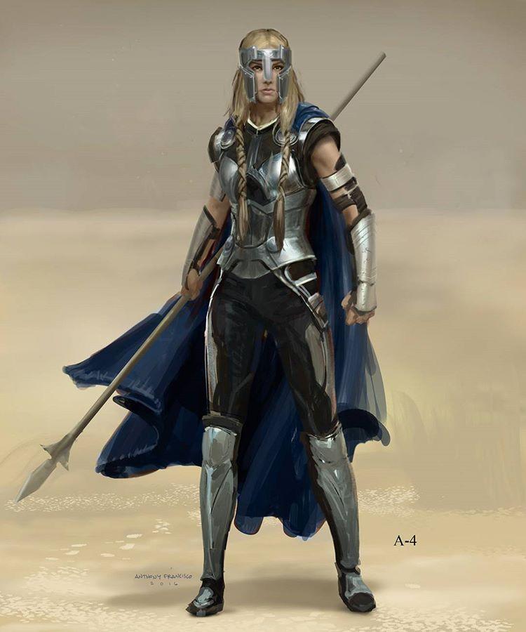 Concept Art Fantasy Viking Armor