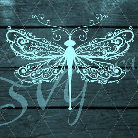 Zentangle Dragonfly Svg MANDALA DRAGONFLY Zentangle Insct Svg,Cricut Svg file,Zentagle for Cricut,Silhouette cut files,Intricate Svg