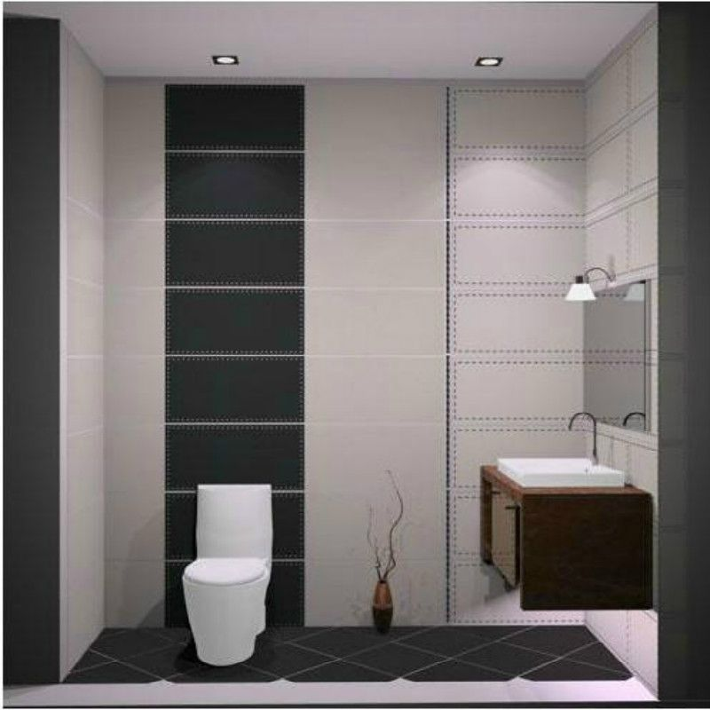Online Buy Wholesale Black White Bathroom Floor Tile From China