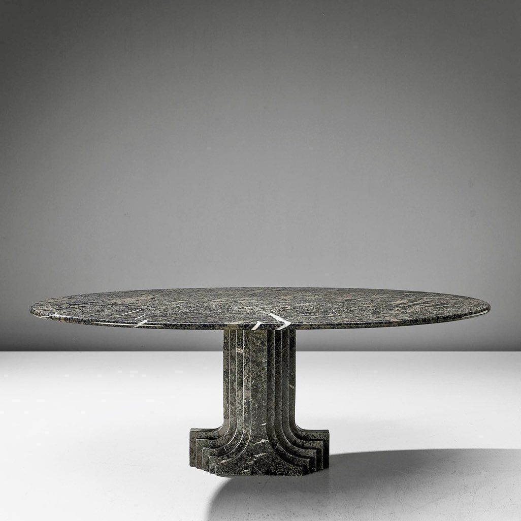 902 Otmetok Nravitsya 10 Kommentariev Morentz Morentz Gallery V Instagram Carlo Scarpa For Simon Oval Table Marble I In 2020 Oval Table Marble Table Marble