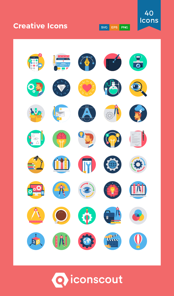 Download Download Creative Icons Icon pack - Available in SVG, PNG ...